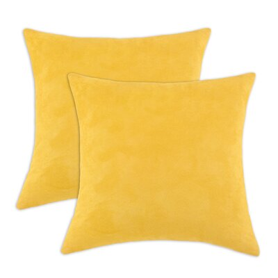 Passion Suede KE Suede Throw Pillow