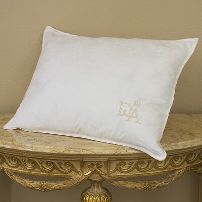 Victoria Embroidered Polyfill Pillow Size: King