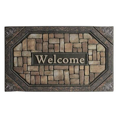 Welcome Stone Engraved Doormat