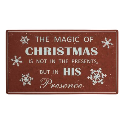 Magic of Christmas Doormat