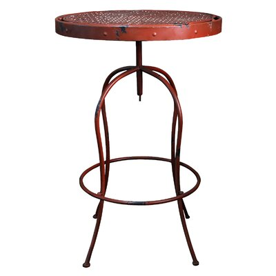 French Bistro Table Finish: Red