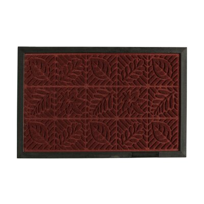 Leaves Engraved Doormat