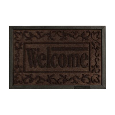 Welcome Engraved Doormat