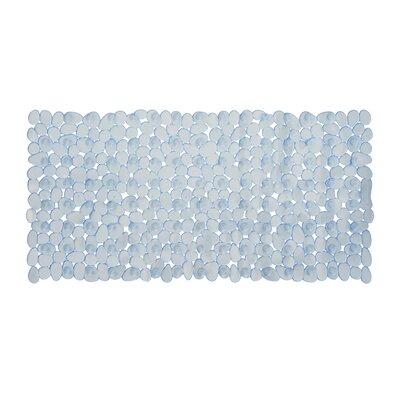 Non-Slip Shower Mat Size: 35 L x 16 W x 1 D, Color: White