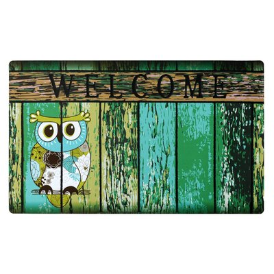 Owl Welcome Doormat