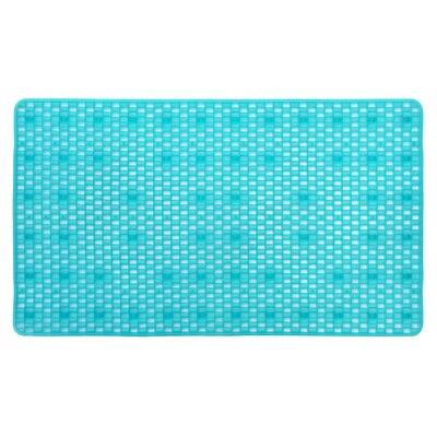 Non-Slip Bath Mat Color: Blue DM1075