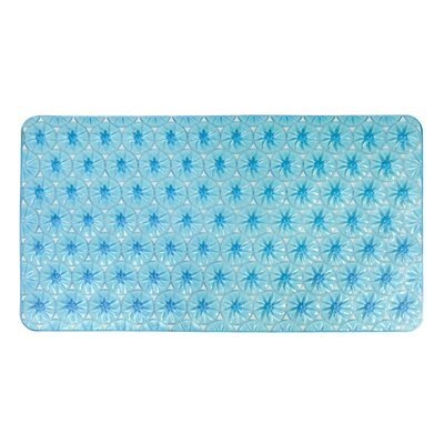 Non-Slip Shower Mat Color: Blue