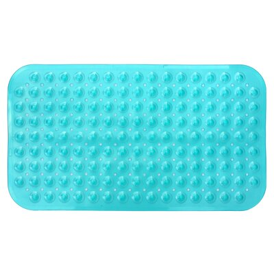 Non-Slip Shower Mat Color: Teal