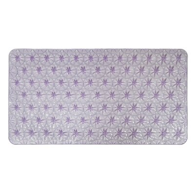 Non-Slip Shower Mat Color: Purple