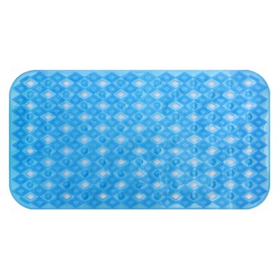 Non-Slip Shower Mat Color: Blue DM1093