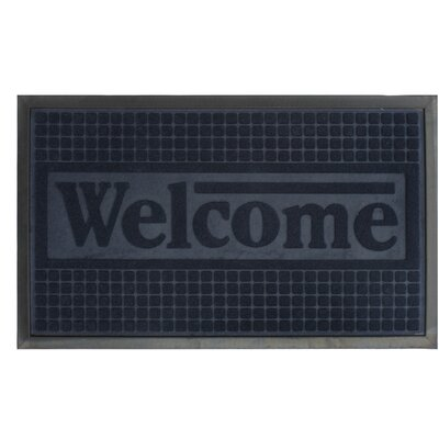 Engraved Welcome Doormat
