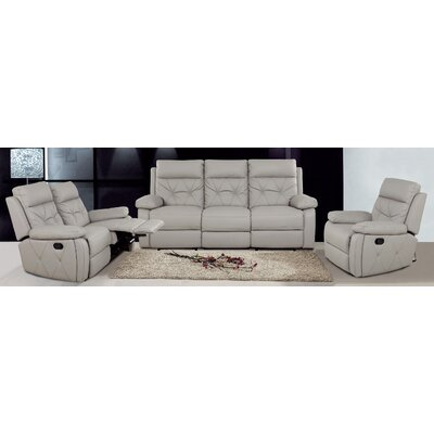 Attractiondesignhome ch1071 3 piece leather living room for Best deals on living room furniture