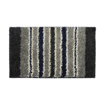 Black/Gray Area Rug Rug Size: 16 x 26