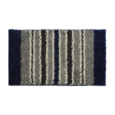 Blue/Gray Area Rug Rug Size: 16 x 26