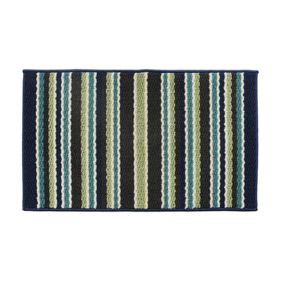 Blue/Green Area Rug Rug Size: 16 x 26
