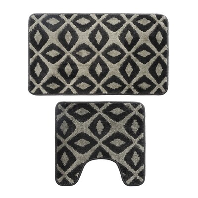2 Piece Bath Mat Set