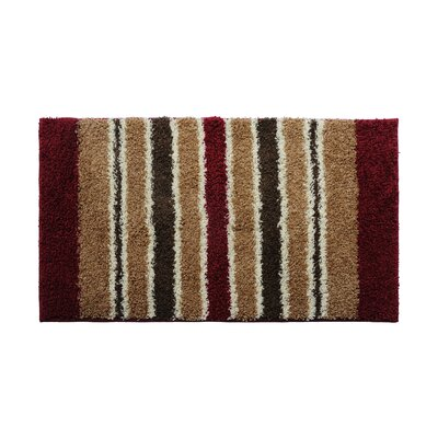 Red/Brown Area Rug Rug Size: 16 x 26