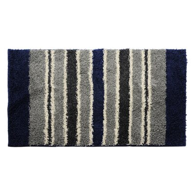 Blue/Gray Area Rug Rug Size: 24 x 39