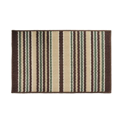 Brown/Green Area Rug Rug Size: 16 x 26