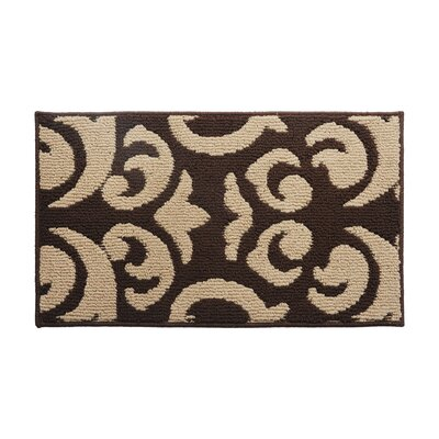 Brown/Beige Area Rug Rug Size: 16 x 26