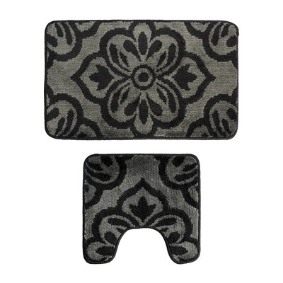 2 Piece Bath Rug Set