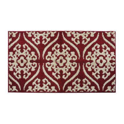 Red/Cream Area Rug