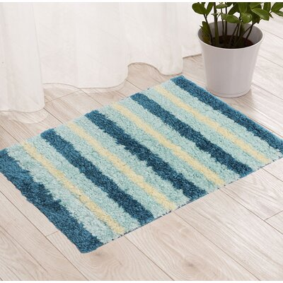 Blue/Cream Area Rug