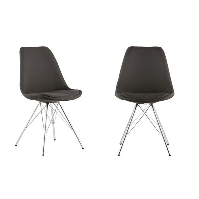 Side Chair Color: Black