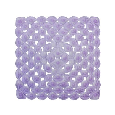 Non-Slip Bath Mat Color: Purple