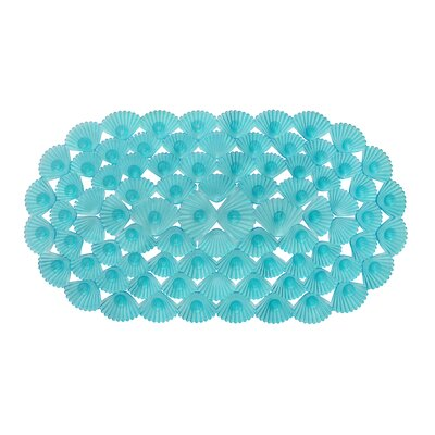 Non-Slip Bath Mat Color: Teal