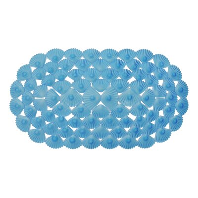 Non-Slip Bath Mat Color: Blue