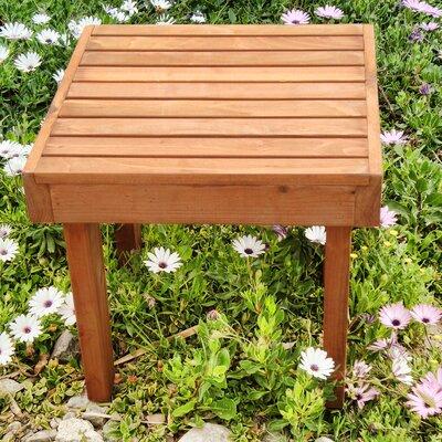 Summer Side Table Finish: Mahogany