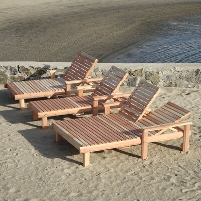 Beach Chaise Lounge Finish: Super Deck