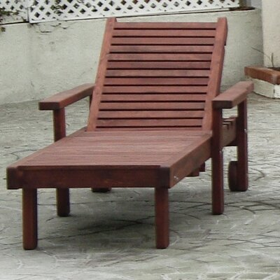 Sun Chaise Lounge Finish: Super Deck