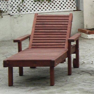 Sun Chaise Lounge Finish: Super Deck