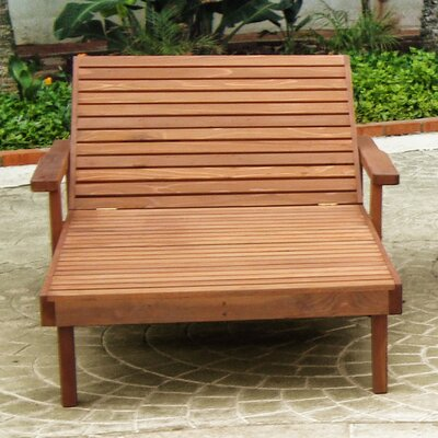 Summer Chaise Lounge Finish: Clear