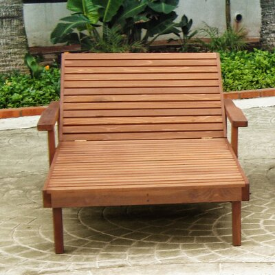 Summer Chaise Lounge Finish: Mahogany