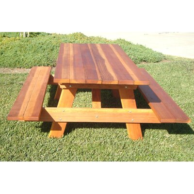 Picnic Table Table Size: 96 L x 48 W
