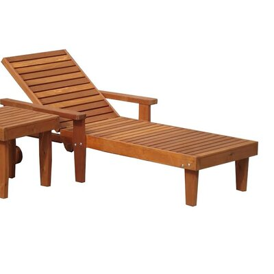 Summer Chaise Lounge Finish: Super Deck