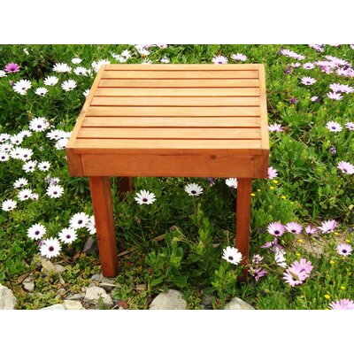 Thibeault Wooden Side Table Color: Super Deck