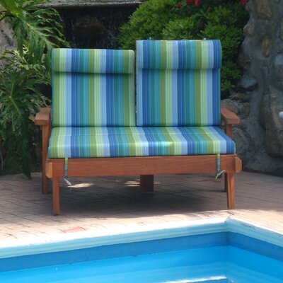 Henry Beach Double Wood Chaise Lounge Finish: Super Deck