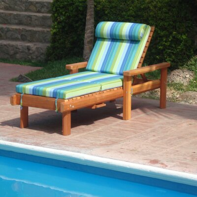 Henry Rustic Beach Single Chaise Lounge Finish: Super Deck