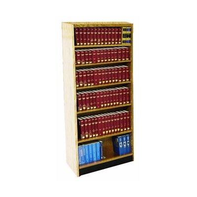 Double Face Shelf Adder 82 Standard Bookcase Size 82 H x 36 W x 20 D Finish Spiced Walnut