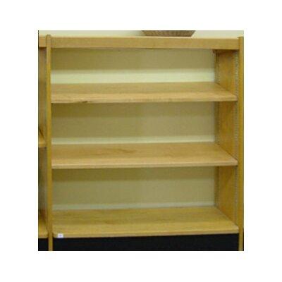 Open Back Single Face Standard Bookcase Size: 42