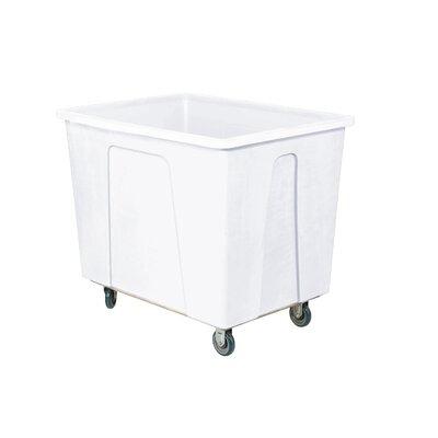 32 Gallon Plastic Box Truck Color: White 272505