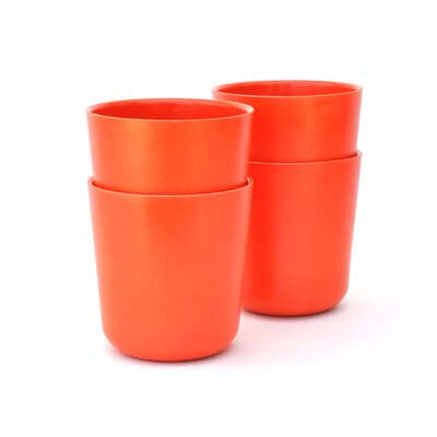 Mountainside 15 oz. Drinkware Set Color: Persimmon
