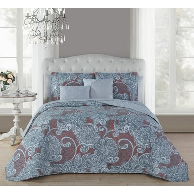 Cliffsage 9 Piece Reversible Bed in a Bag Set