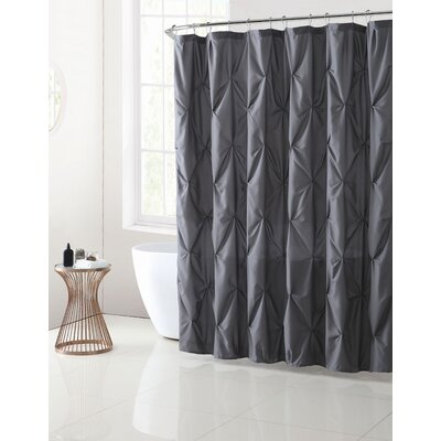 Albali Shower Curtain Color: Gray