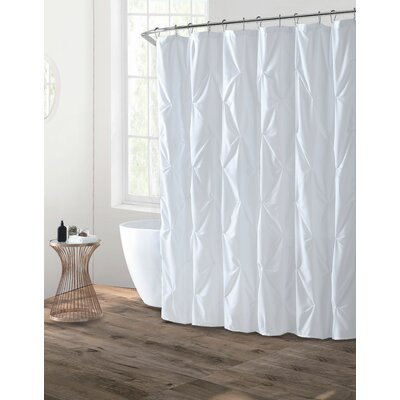 Albali Shower Curtain Color: White