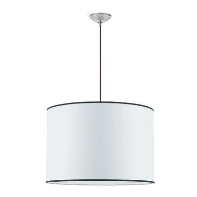 Tom Tom  1-Light Drum Pendant Size: 16.5